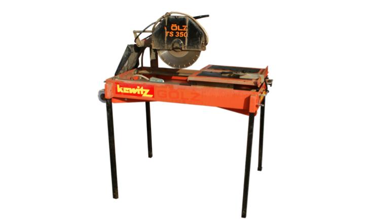 Betonschneider / Tischsäge Gölz TS 350