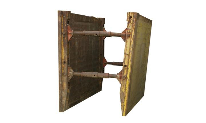 Stahl-Verbau
